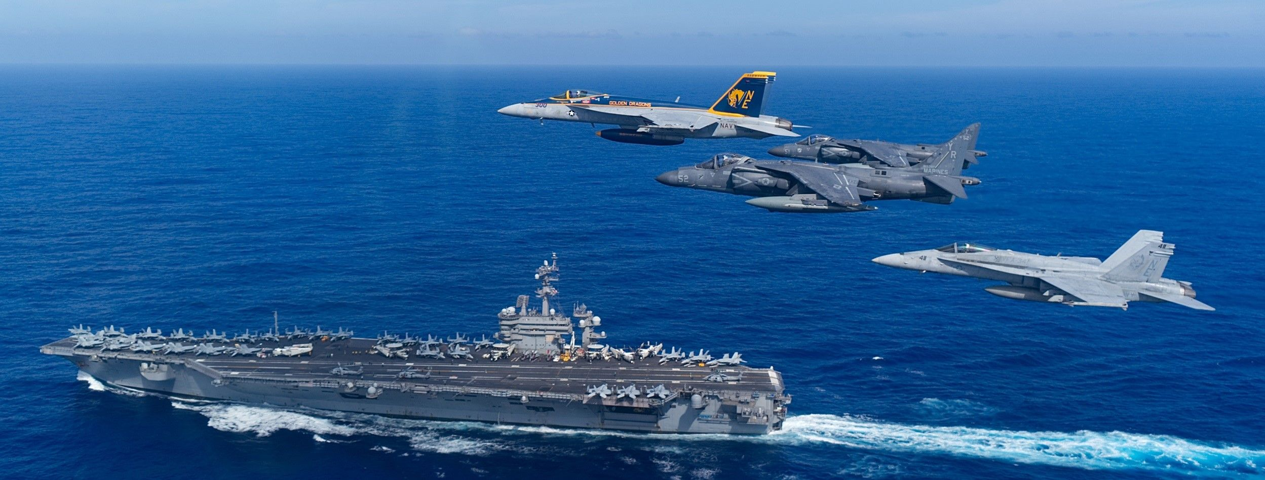 Nimitz-class aircraft carrier USS Carl Vinson (CVN 70)